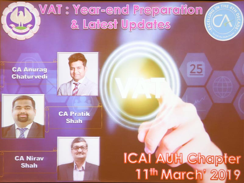 PDC VAT Year End Preparation and latest updates 11.03.2019