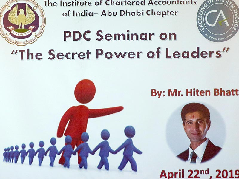 PDC The Secret Power of Leaders 22.04.2019